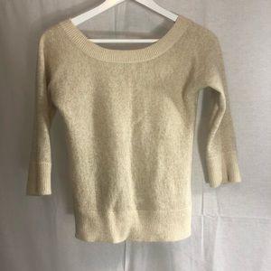 Vintage Banana Republic wool 3/4 sleeve sweater